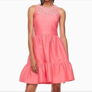 NWT kate spade pearl Mikado sleeveless dress